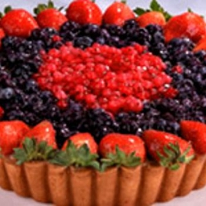 Baked Mixed Berry Mascapone