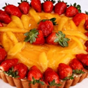 Baked Strawberry Mascarpone