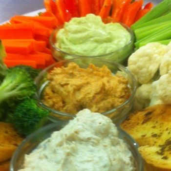Dips with Veggies