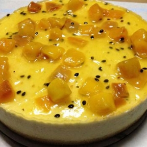 Passionfruit Mango Cheesecake