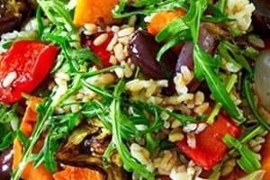Gallery Roast Veg and Rice Salad
