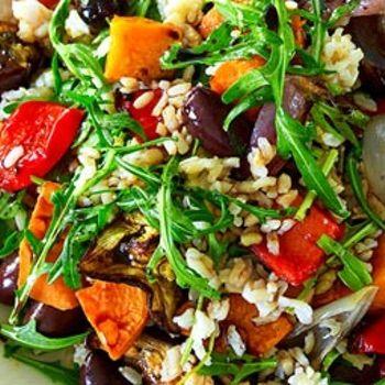 Roast Vegetable & Rice