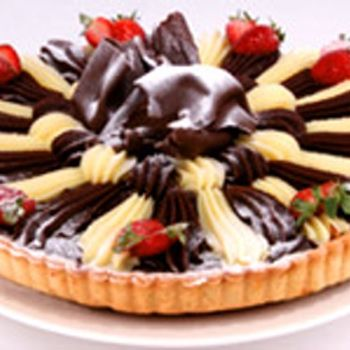 Wicked Fudge Tart