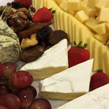 Cheese & Biscuits Platter